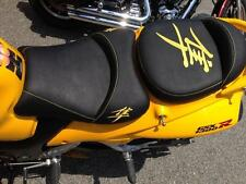 Hayabusa Custom Shaped/Covered Front & Rear Yellow Seat Seats! 08-09-12-13-15-17