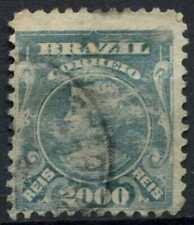 Brazil 1906-17 SG#278, 2000R Turqouise-Blue Used #E11039
