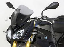 BMW S1000R BRISE-VENT Racing R racingscreen noir/ Noir Pare-Brise Abe S 1000 R