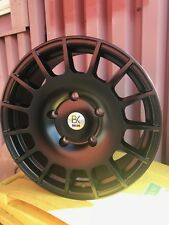 "BK350 18"" Alloy Wheels Tyres Ford Transit 5x160 Load Rated Black M-Sport   OZ"