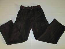 Boys Canyon River Blues Brown Cargo Pants Size 12 Mint