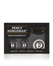 Beard Grooming Kit by Percy Nobleman. A Beard Oil, Wash, Balm & Comb Gift Set