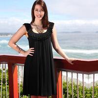 NEW Maternity Clothing Breastfeeding Dress Nursing Dress Clothes S 4XL PLUS SIZE