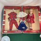 Vtg 1950s? R & B NANCY JANE Doll WALKS SITS TURNS HEAD ORIGINAL Box + Clothes