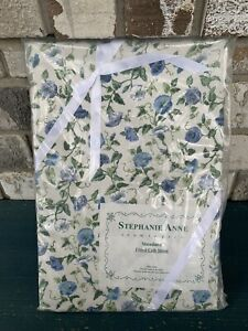 Stephanie Anne Room To Grow Floral Baby Fitted Crib Sheet 100% Cotton