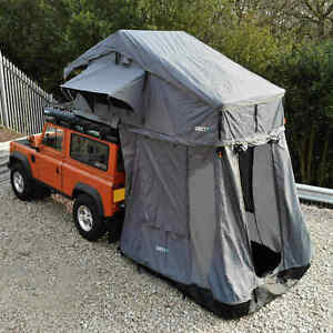 Granite Grey Expedition Foldout 3 Person Roof Top Camping Tent