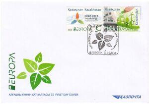 2016 Kazakhstan FDC Europa Think Green FDC