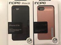 Incipio DualPro Case Cover for iPhone 5/5s/SE - Black/Rose Gold - NEW