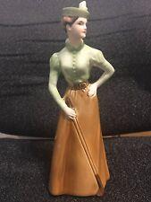 "Goebel Figurine ""On the Fairway 1894"" Fashion Parade, W. Germany artist signed"