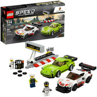 LEGO Speed Champions Porsche 911 RSR and 911 Turbo 3.0 75888 Kid Toy Gift