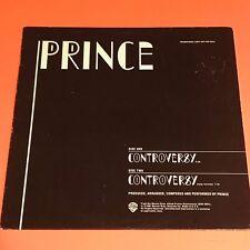 PRINCE CONTROVERSY US PROMO 12 1981 RARE PRO-A-980