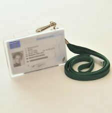 Digital Tacho Driver Smart Card Holder complete with Lanyard, Company Card, Fuel