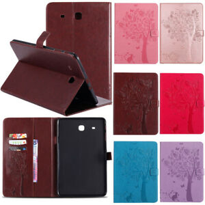For Samsung Galaxy Tab A 8.0 T387 / 10.5 T590 Magnetic Folio Leather Wallet Case