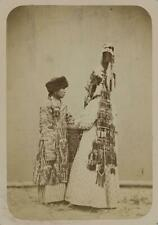 Photo:Kyrgyz,Central Asia,clothing,fur hat,headress,c1865 4495
