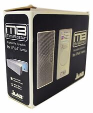NEW JLAB MINI BLASTER Portable Music Speaker iPod Nano 3.5mm Audio Deadstock NIB