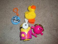 Cereal and Fast Food Toys. Minions, Penguins, Duck