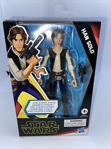 Star Wars Galaxy of Adventures Han Solo 5 Inch Action Figure Hasbro new Sealed