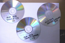 AVA RS3 MEDIA SERVER  start up and installation CD'S/DVD