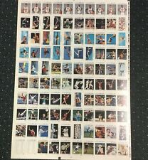 1992 Impel Olympic Dream Team Jordan 100 Card Set Uncut Sheet Test Proof Rare!