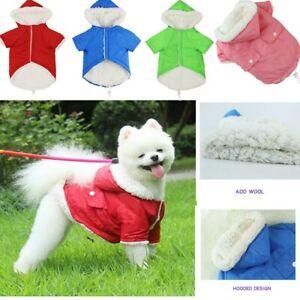 Winter Warm Dog Coat Clothes Cotton Padded Vest Pet Jacket Small/Medium/Large
