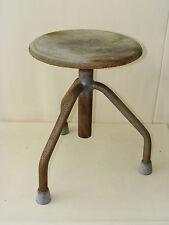 Ancien pivotant tabouret atelier tabourets, designer hocker, bois vintage tabouret de bar, chaise
