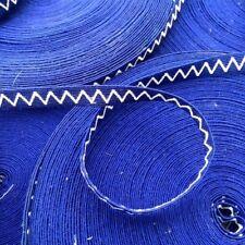 Galon Militaire armée ruban grade ancienne mercerie ancien vintage bleu 1930