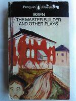 HENRIK IBSEN.THE MASTER BUILDER-ROSMERSHOLM-LITTLE EYOLF-JOHN GABRIEL BORKMAN.SB