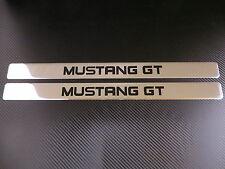 MUSTANG GT chrome door sills sill plate