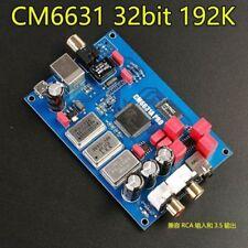 CM6631A digital interface USB to I2S / SPDIF coaxial 32 / 24Bit 192K sound card