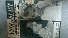 rare Revue journal NOIR ET BLANC 21 JUILLET 1961 n°855 :LILIANE/PAOLA/ORPAILLAGE