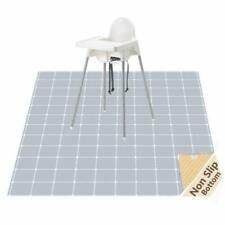 Highchair Splash Mat, Non-Slip Baby Splat Mat for Under High Chair/Arts/Crafts,