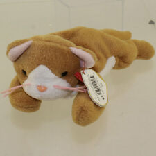 TY Beanie Baby - NIP the Cat (White Face Version) (3rd Gen Hang Tag - Non-Mint)