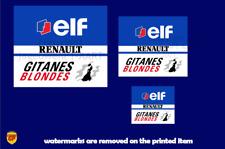 More details for ligier js37 f1 sponsor sticker - scuderia gp