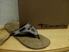 Tamaris Damen-Sandalen & -Badeschuhe-Zehentrenner 37 Größe