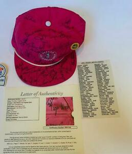 Historic Tiger Woods Signed First Ever 1992 PGA Tournament Riviera Hat JSA COA