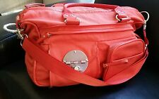 Mimco Peach Lucid Baby Nappy Gym Travel weekend shoulder strap cross body Bag