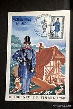 FACTEUR RURAL DE 1830   FRANCE CPA Carte Postale Maximum  yt 1549