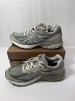 New Balance 990v4 Women's Grey CastleRock Running Athletic Shoes Size 9 2A Width