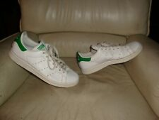 """Adidas Stan Smith """" Green """" Used - Sneakers T. 42 2/3 Occasion - US 9 / UK 8,5"""