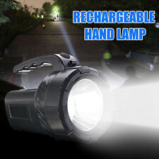Rechargeable Torch 10W LED Work Spot Light Hand Flash Night Bright Lamp Handle