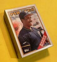 50) BARRY BONDS Pittsburgh Pirates HOF? 1988 Topps Baseball LOT Card #450