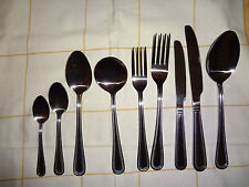 54 Piece, Bead Pattern, Commercial Quality Stainless Steel Cutlery Set