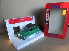 840L Polistil Tonka 2240 Italie Citroën 2cv Vert 1:25 + Boite