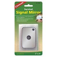 "Coghlan's Survival Signal Mirror 2"" x 3"" Sight-Grid Laminated Glass Camp Mirror"
