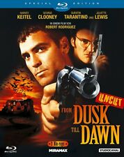 Uncut - FROM DUSK TILL DAWN Tarantino GEORGE CLOONEY BLU-RAY vom Index befreit !