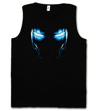 Mark II Armor Eyes Tank Top Tony Stark Iron Arc Reactor Sign III 3 on yeux