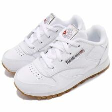 Reebok CL Classic V69626 White Gum Leather Baby Toddler Shoes