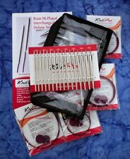 KNITPRO Nova Metal Deluxe Interchangeable Circular Knitting Needle Set