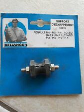 Support échappement silentbloc RENAULT 4 5 6 RODEO R4 R5 R6 4L TRAFIC F4 F6