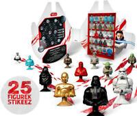 Stikeez von LIDL 25 Figuren Komplettsätz STAR WARS mit BOX  Sammel Diorama
